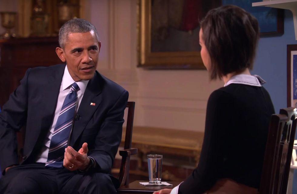 Obama Blames Men for Dumb Tampon Tax Laws