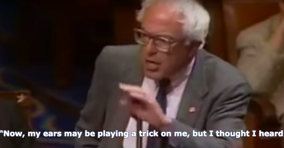 Watch Bernie Sanders Shut Down a Homophobic House Member in This Video From 1995
