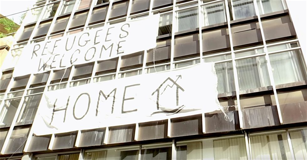 Greek Anarchists Are Running a Refugee Center Out of a 'Squat House'