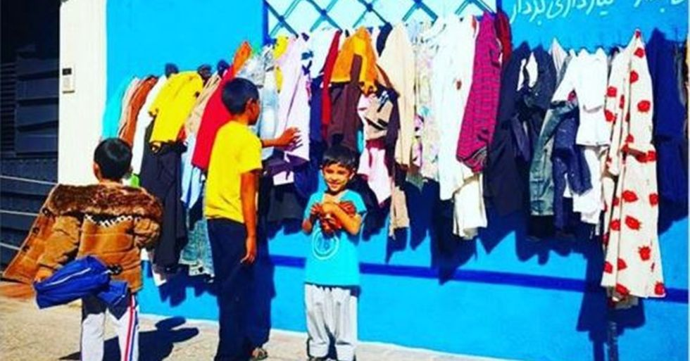 Iran Helps Its Poor Through 'Kindness Walls'