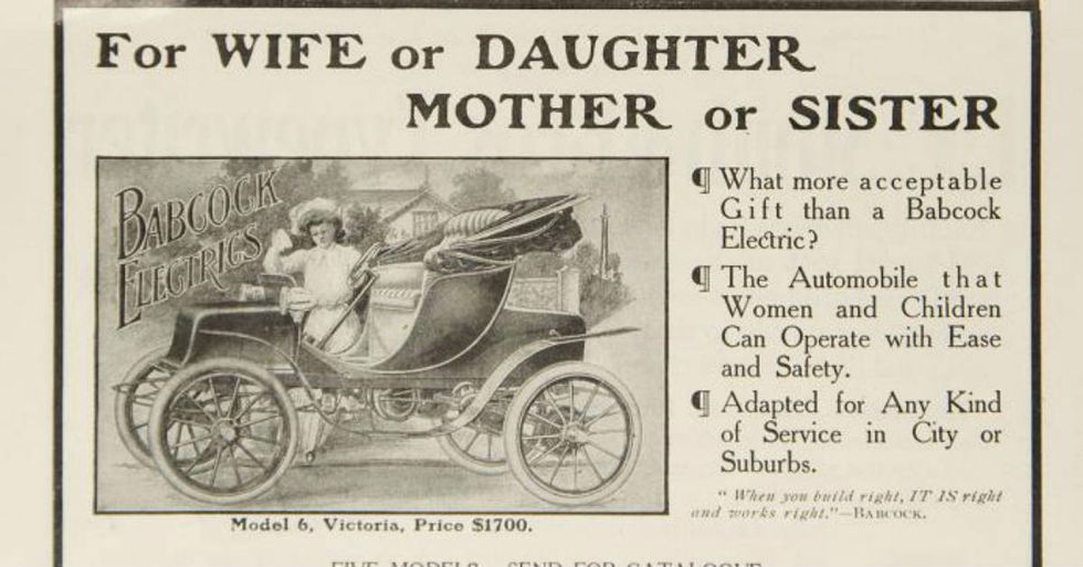 These 8 Photos Will Transport You to the Golden Age of Electric Car Advertising
