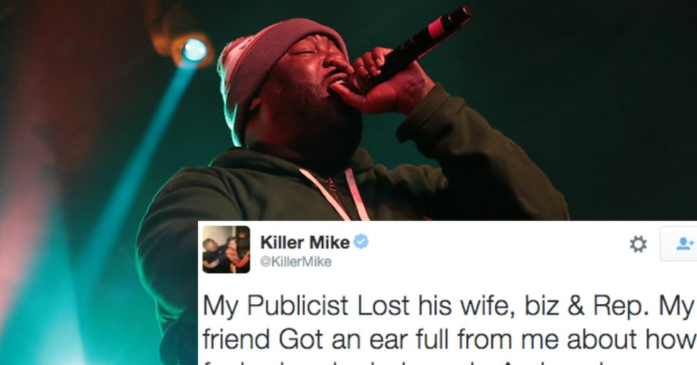 Rapper Killer Mike Speaks Out Against Sexual Assault in the Music Industry