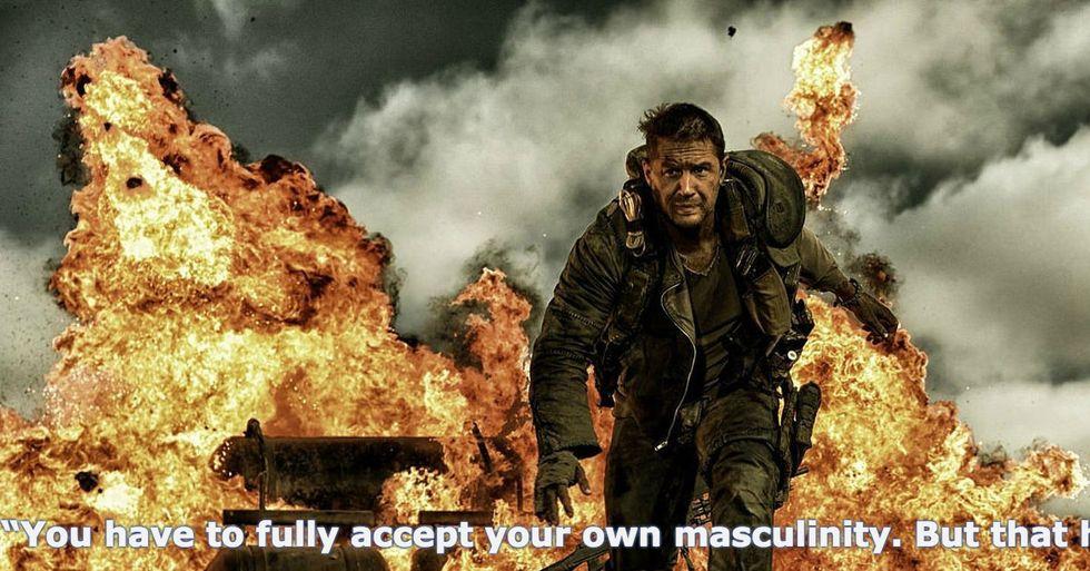 Tom Hardy Defines Masculinity
