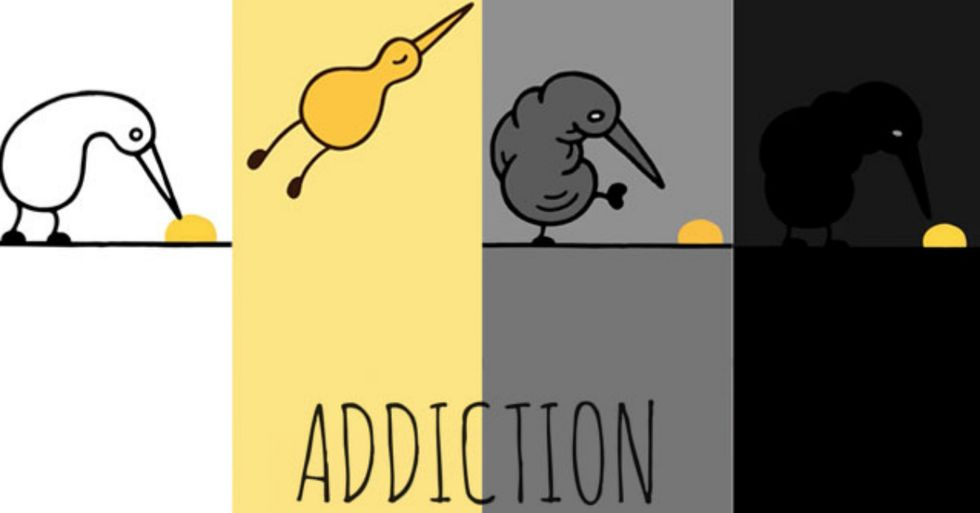 German Animator Creates Moving Video About Addiction