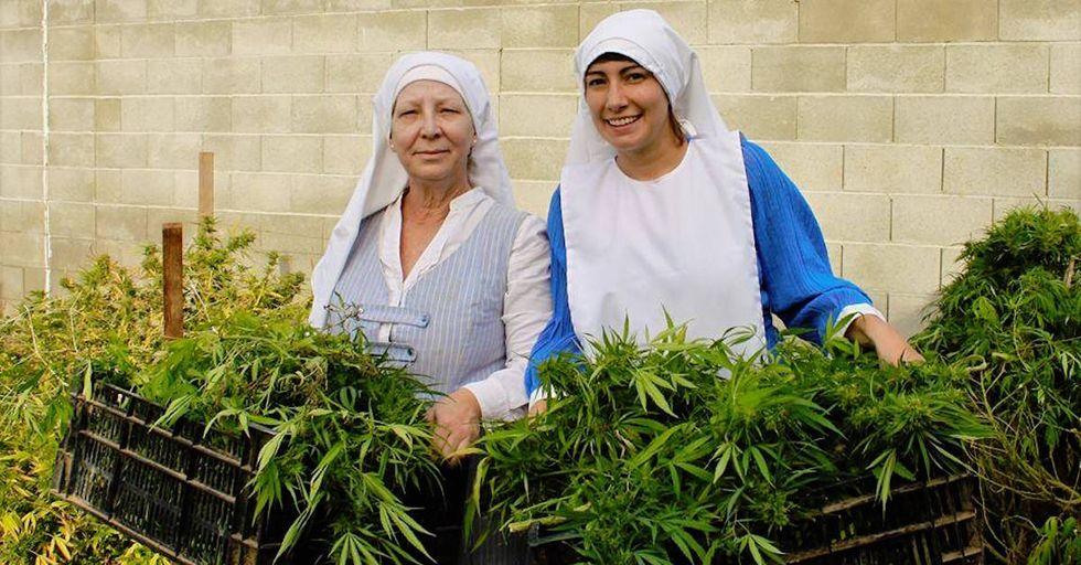 Marijuana-Growing Nuns Are Protesting a City Ban on Cannabis
