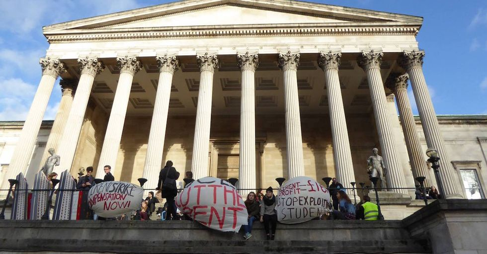 London Students Are Holding a Rent Strike