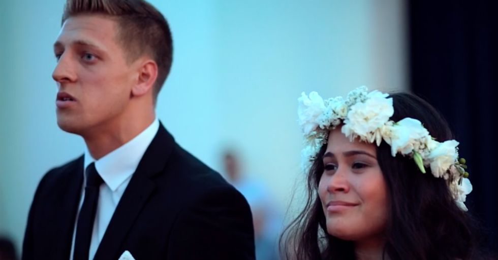 This Is Definitely the Most Intense Wedding Dance You'll See All Day
