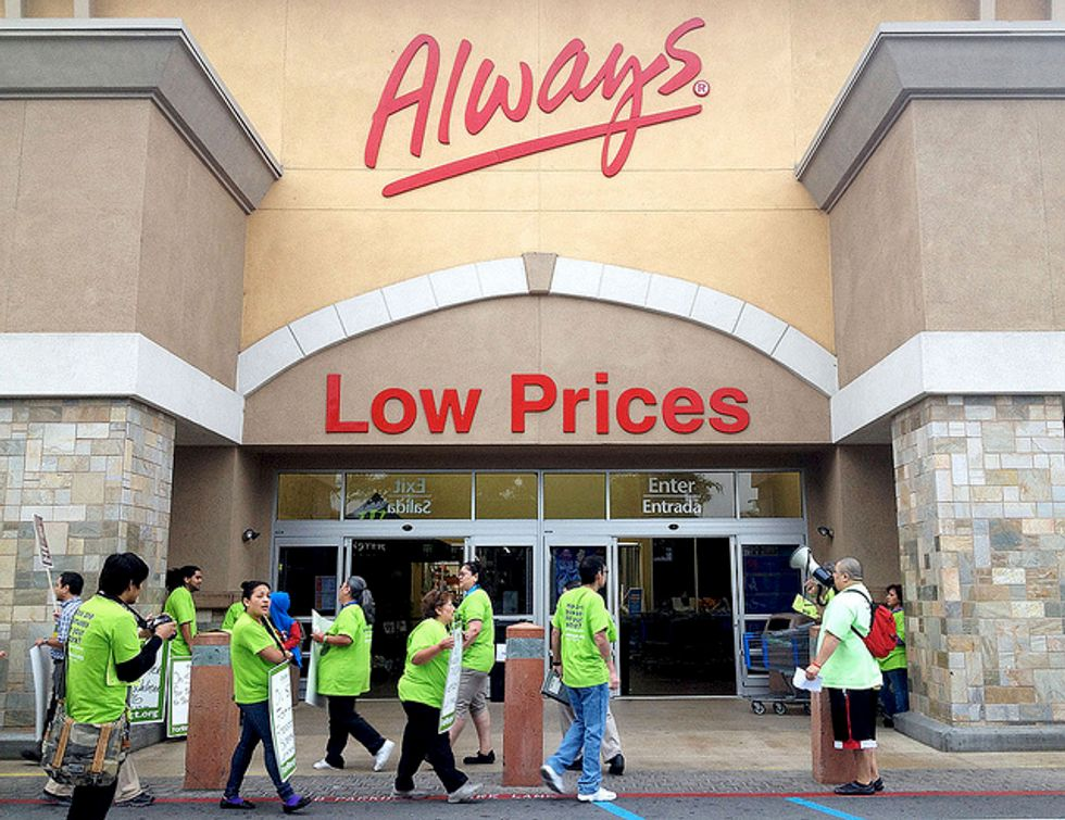 Judge's Ruling Vindicates Walmart Workers Fired for Participating in Strike