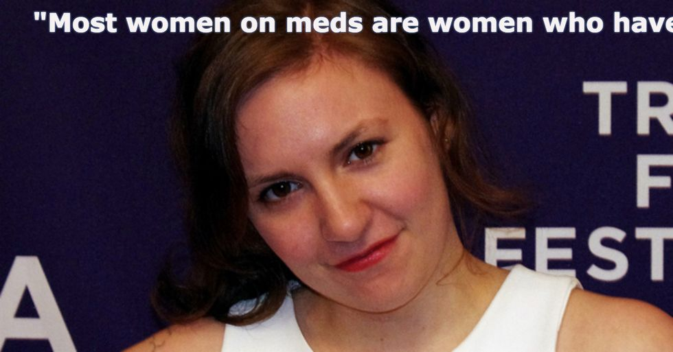 Lena Dunham Shatters the Crazy Girl Stereotype