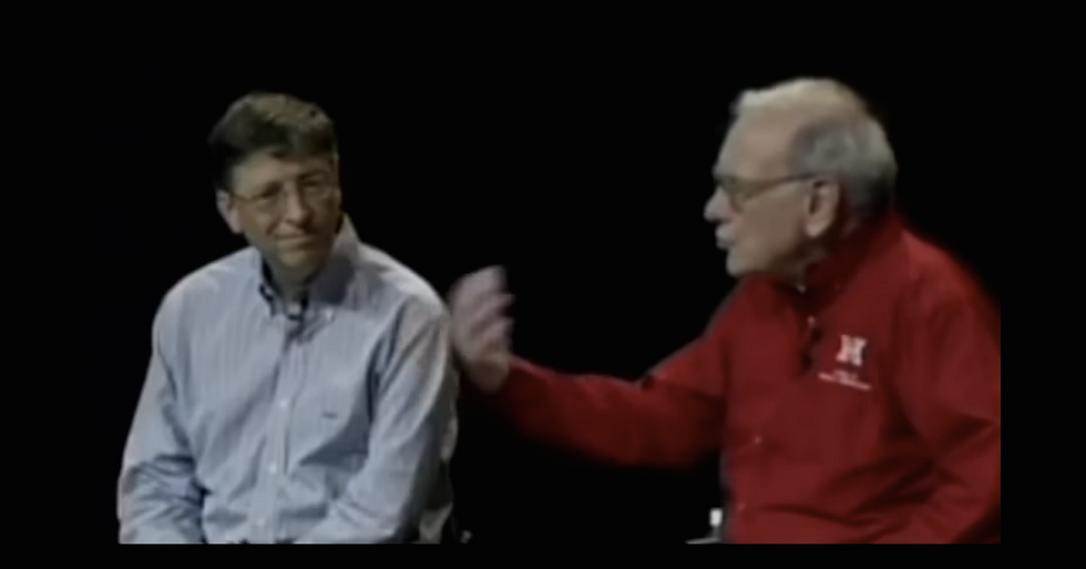 Bill Gates and Warren Buffett, Talkin' About Their Taxes Being Too Low