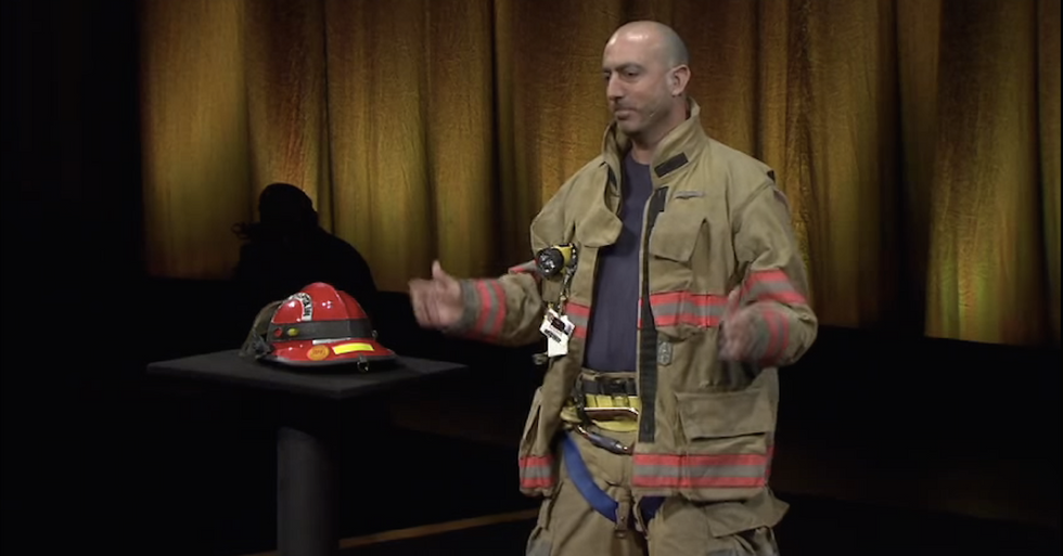 This Firefighter Arrived Just After the Dog Was Saved—andStill Impressed the Homeowner