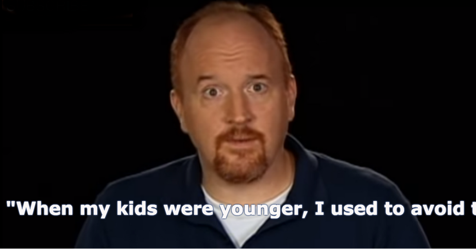 Louis C.K. Admits Something About Being a Dad That Most of Us Wouldn't