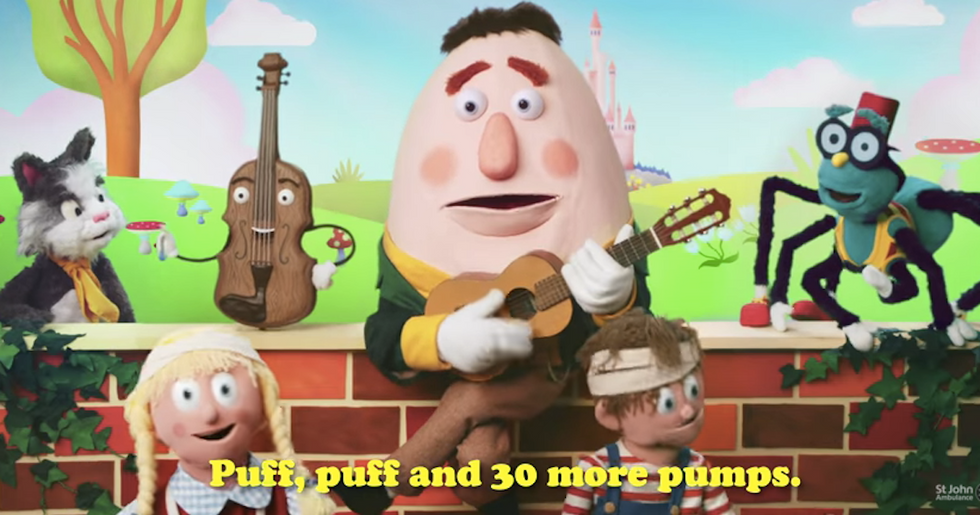 How to Give a Baby CPR, in One Very Short Nursery Rhyme