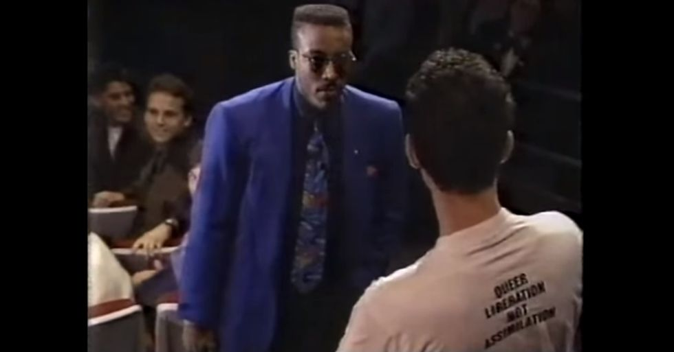 In 1991, Talk Show Host Arsenio Hall Stood Up for Gay Rights