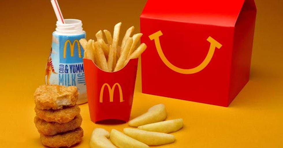 McDonald's to Give Away 17 Million Books in Its Happy Meals