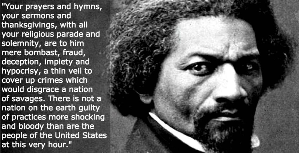 Frederick Douglass Spoke at a July 4 Event in 1852. Here Are His Powerful Words
