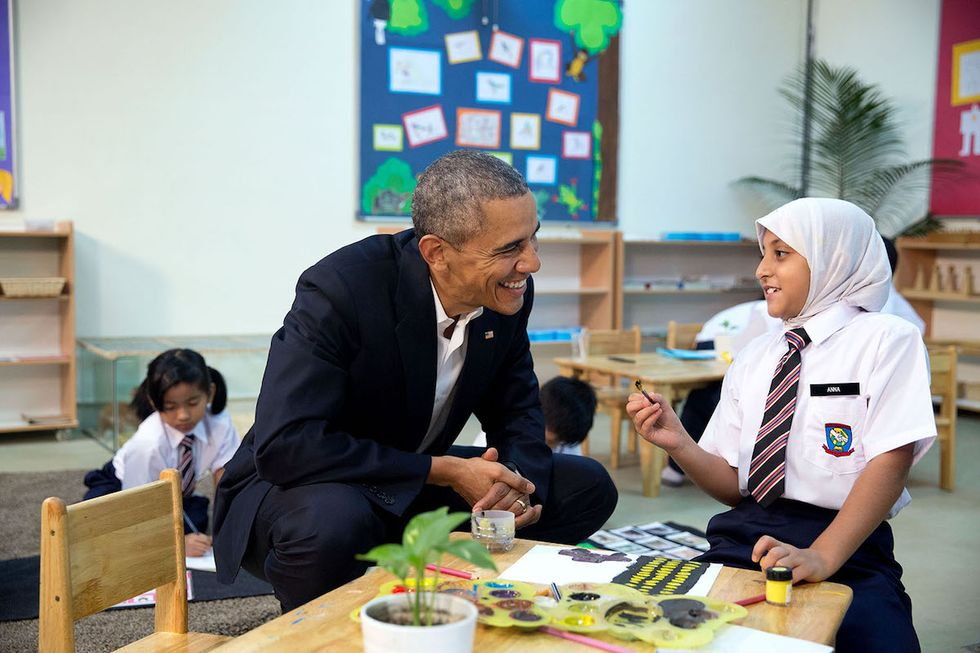 Obama Will Make His First Presidential Visit to a U.S. Mosque This Week