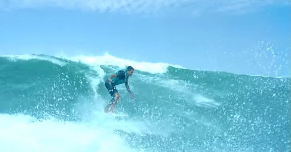 Derek Rabelo Overcame Blindness to Become an Amazing Surfer