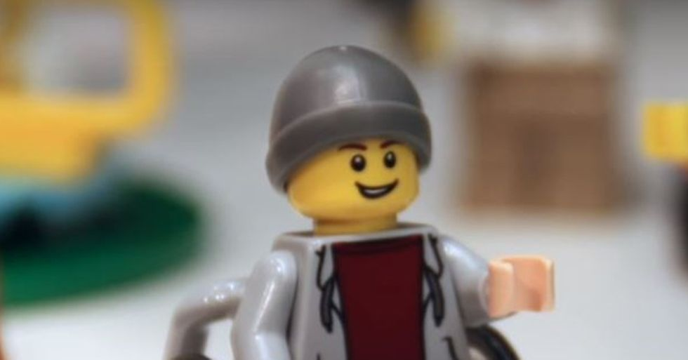 Lego City Has a New Resident Who Uses a Wheelchair