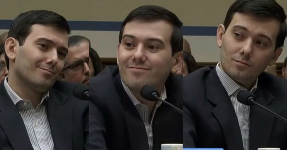 Martin Shkreli's Congressional Hearing Appearance Did Not Gain Him Any New Fans