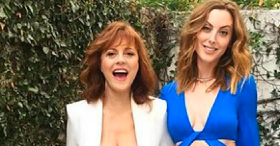 Susan Sarandon's Cleavage Sparks Misogynist and Ageist Reactions in the Chatterverse