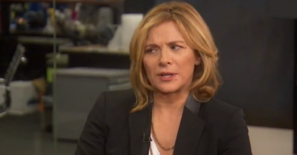Kim Cattrall Opens Up About the Challenges of Growing Older as an Actress
