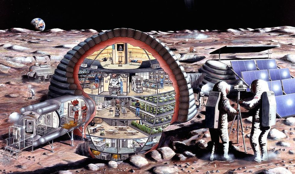 The Case for an International Moon Base