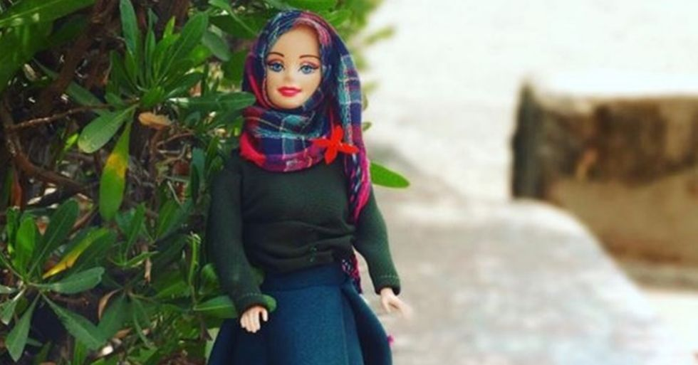 Nigerian Student Gives Barbie a Modest Makeover
