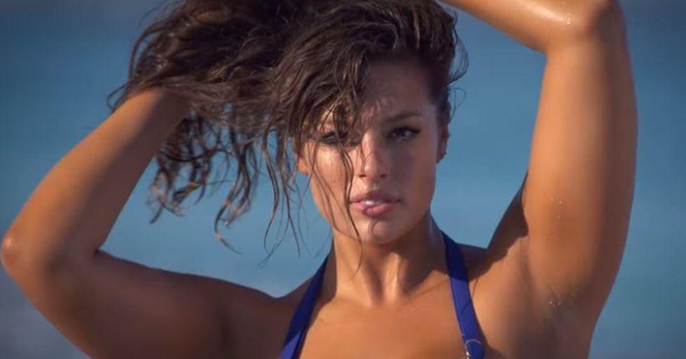 Ashley Graham Is SI's Newest Full-Figured Swimsuit Model