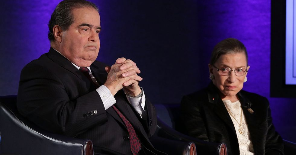 Justice Ginsburg Pens a Moving Tribute to Justice Scalia