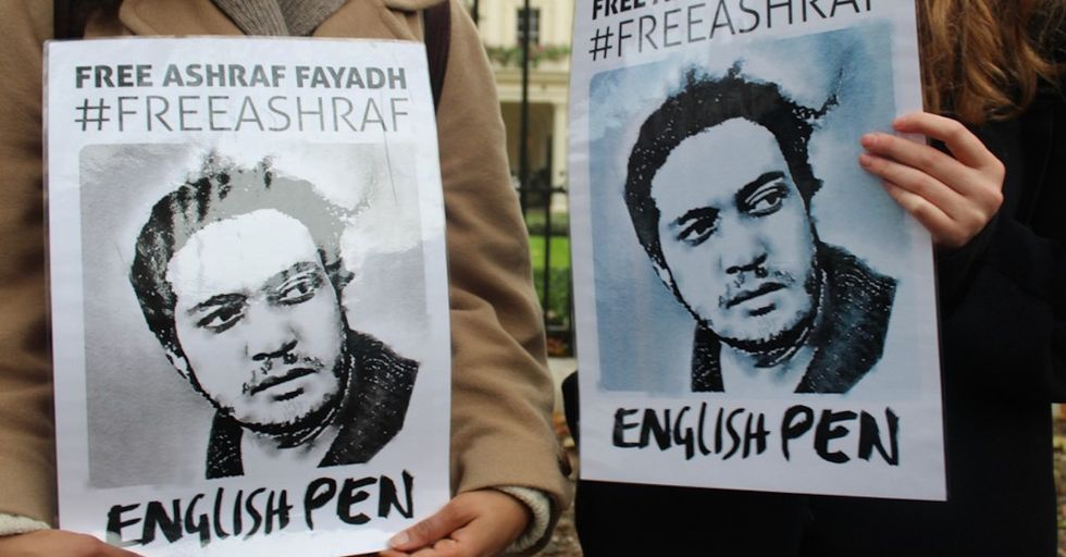 Once Sentenced to Death in Saudi Arabia, a Poet Finds Global Recognition