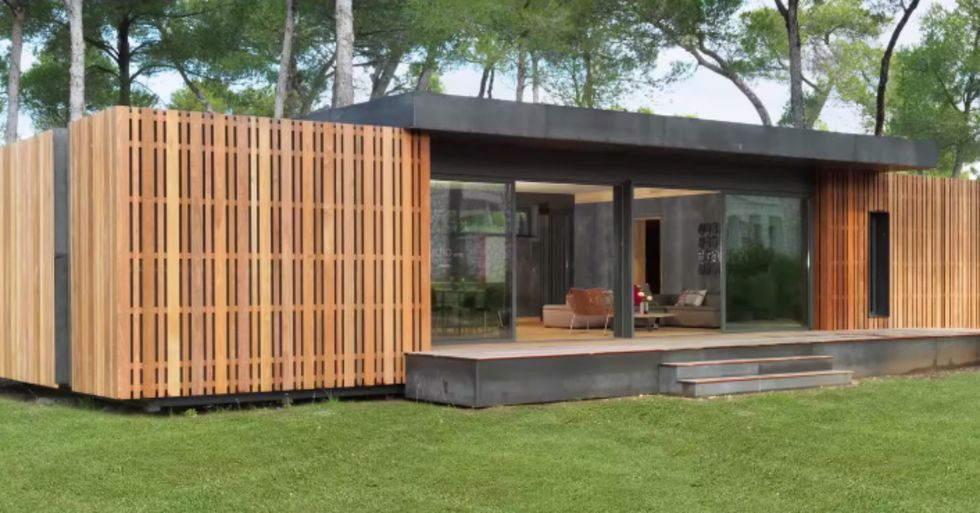 French Design Studio Has Created a Recyclable House