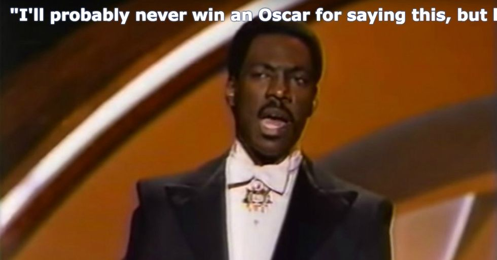 In 1988, Eddie Murphy Nailed the Oscars and Hollywood for Their Racism—and Still Made People Laugh