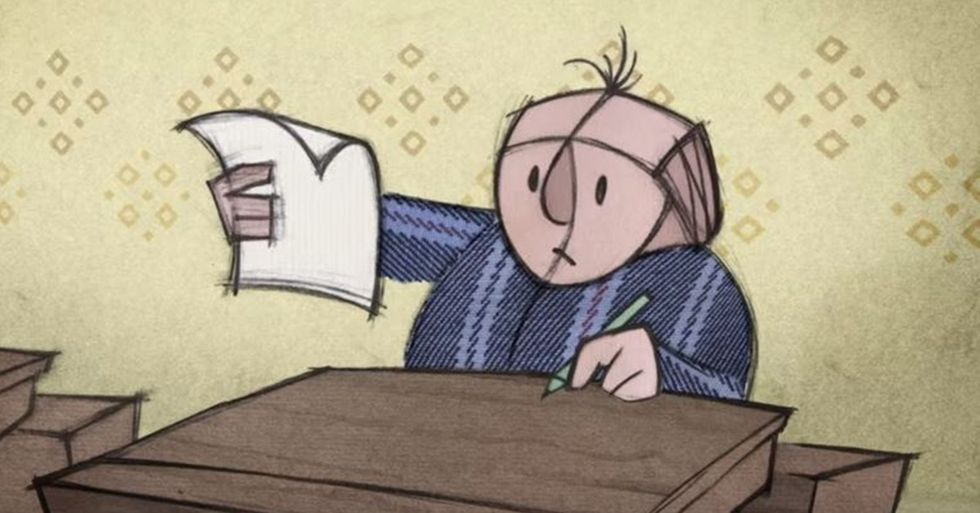 'Falling Letters' Shows What It's Like to Have ADHD