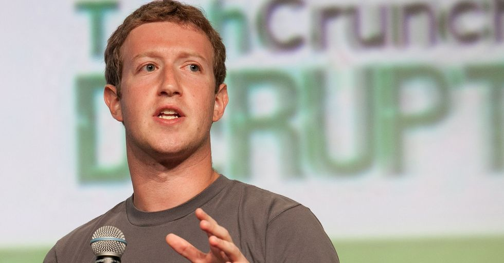 Mark Zuckerberg Chastises Employees Who Crossed Out 'Black Lives Matter' on Facebook's Signature Wall