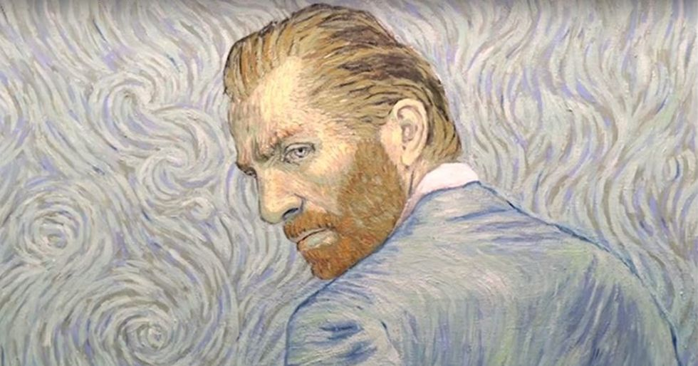 Loving VincentIs the First Feature Film to Be Animated With Paintings
