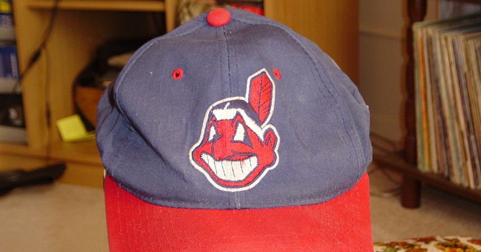 These Hats Put Racist Sports Logos in Perfect Context