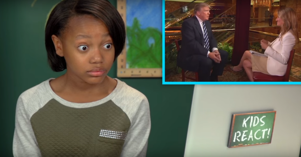 New Video Shows How Kids React to Donald Trump