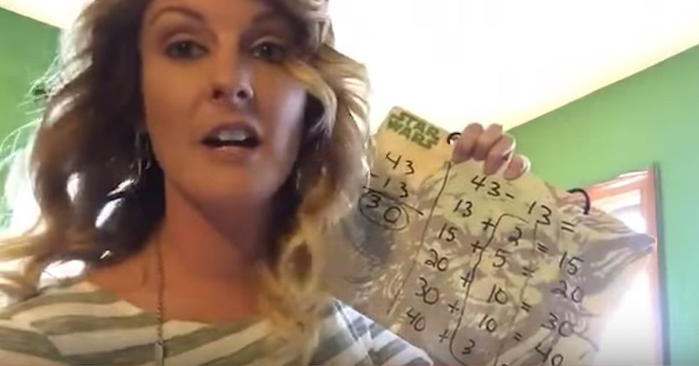 Woman Uses 'New Math' to Complete a Simple Equation, Minds Explode