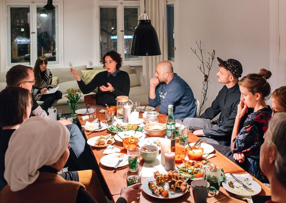 Over Dinner, 9 Experts On TheRefugee Crisis Contemplate The 'Right Way' To Help