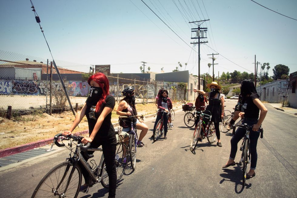Meet the All-Women Bike Crew Running Gentrifiers Out Of Town