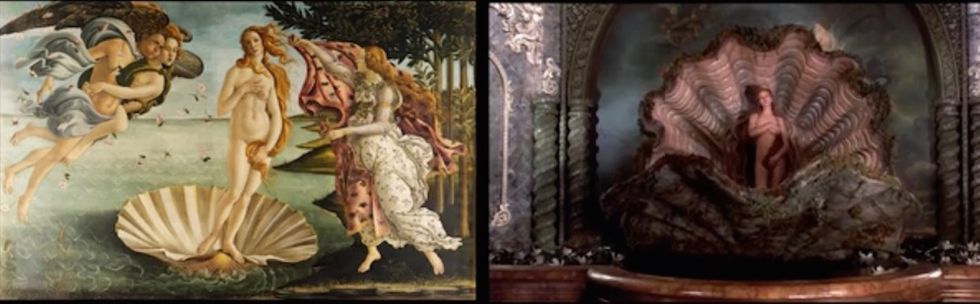 Watch How Famous Paintings Inspire Famous Films