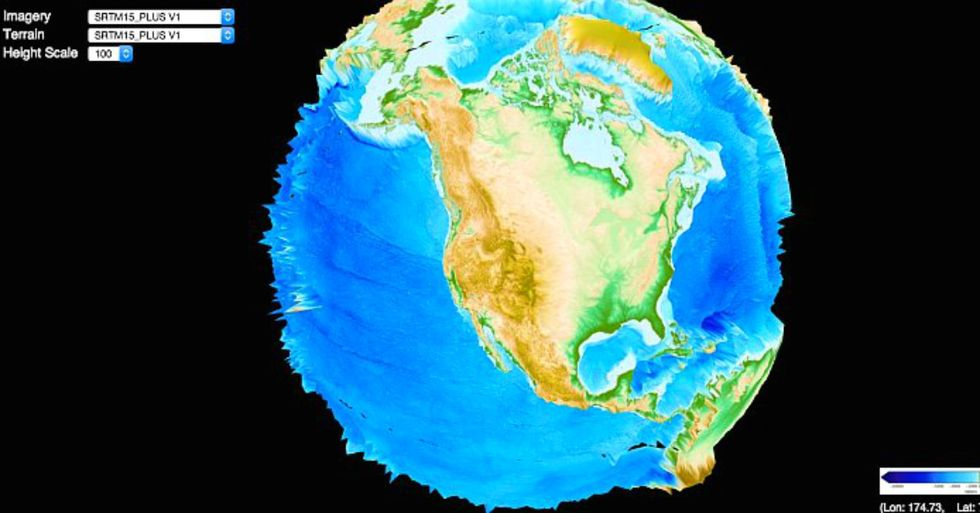 Now you can watch the Earth's evolution thanks to this interactive site