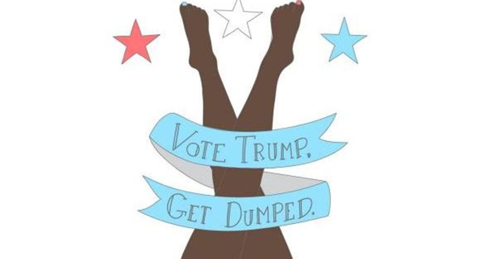 #VoteTrumpGetDumped Asks Women to Stop Sleeping With Men Who Support the Donald