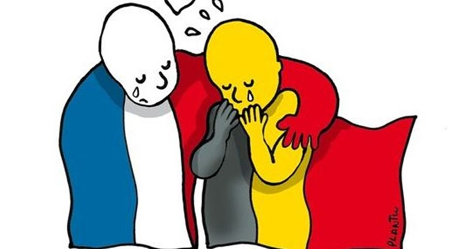 10 Bold Pieces of Artwork That Show Solidarity With Belgium