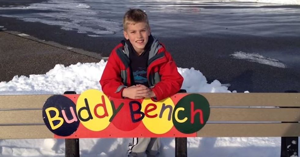 Introducing the Buddy Bench