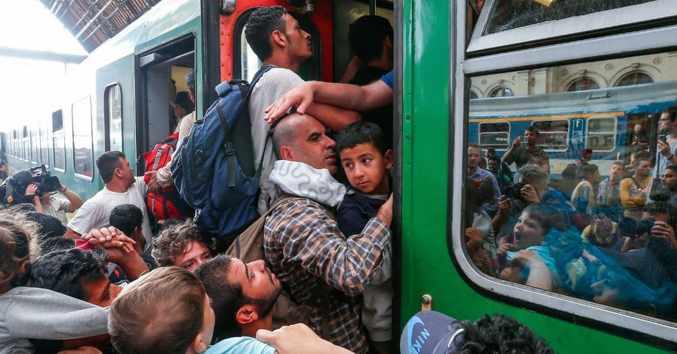 Syrian Refugees Rescue Neo-Nazi Politician in Car Accident
