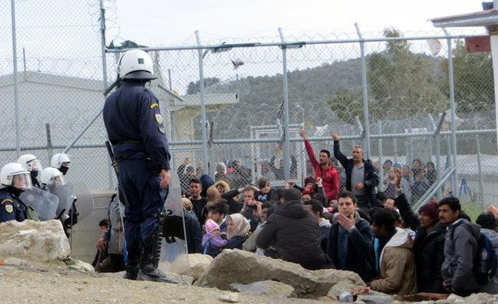 How the EU-Turkey Deal Is Impacting an Infamous Refugee Camp in Greece