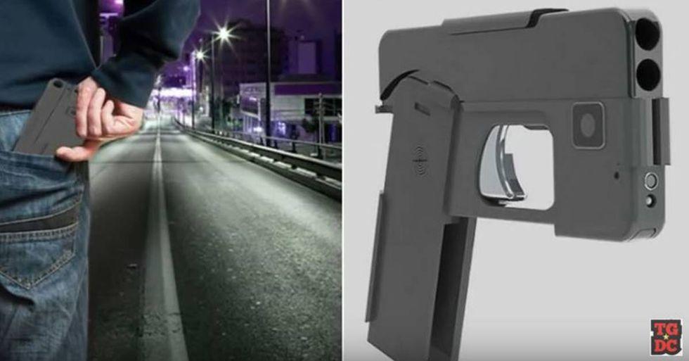 Minnesota Man Creates A Gun that Looks Like an iPhone