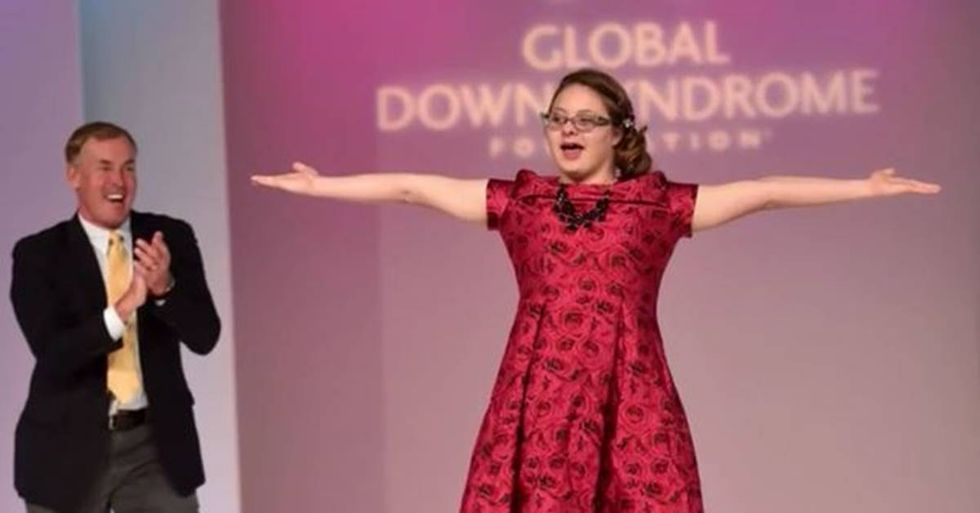 Katie Meade is the First Woman with Down Syndrome to Be the Face of a Beauty Campaign
